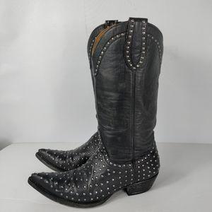 Old Gringo Black Cowboy Boots